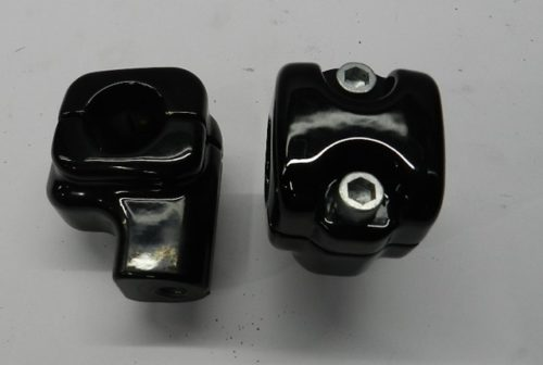 Harley - Risers - Black -Front
