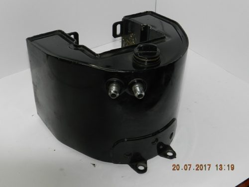 Harley - Panhead Oil Tank-Front