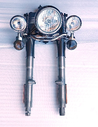 Harley-Front fork /headlights/driving lights-front