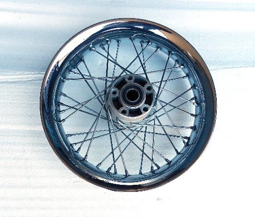 Harley-Rear Wheel -2011 Softail -Front