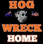 Hog Wreck Logo