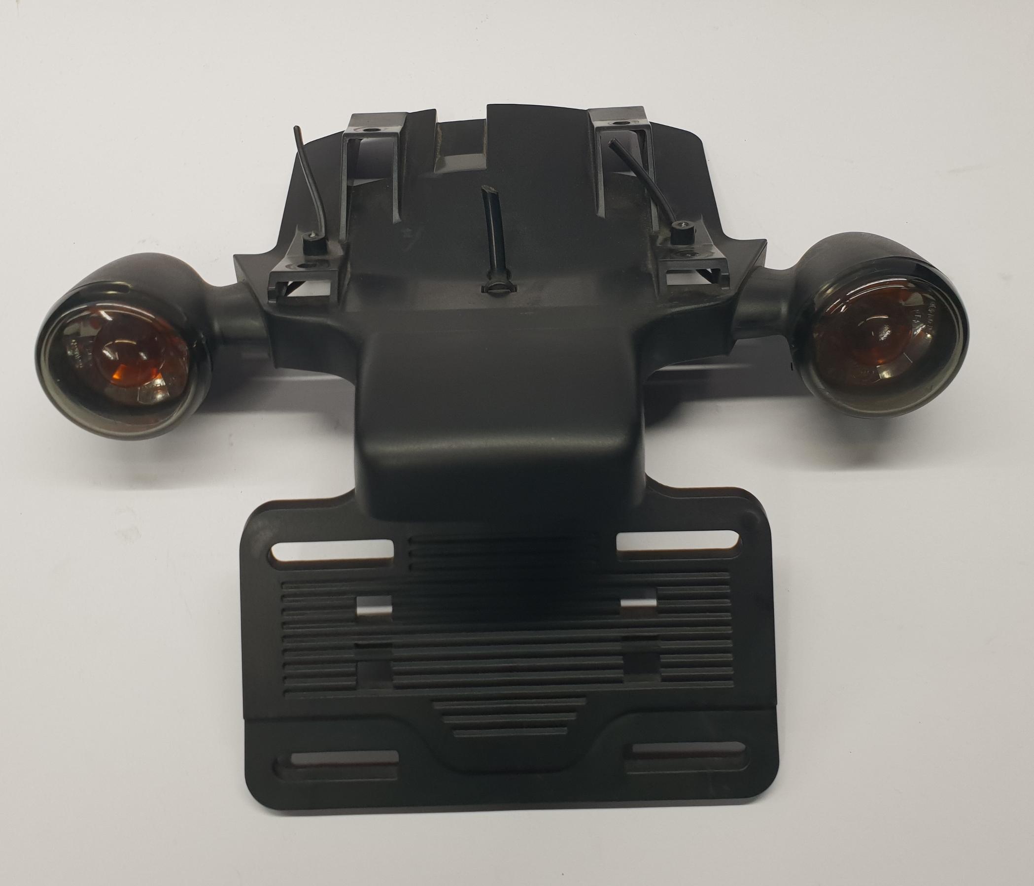 Harley-V-Rod-License Plate Assembly(2006)-Front