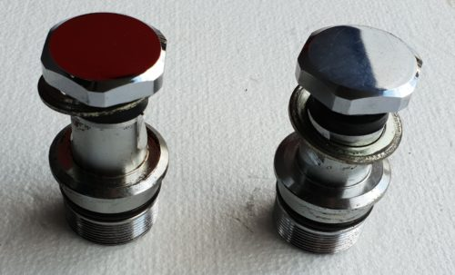 Harley -Heritage Softail 2003 -Fork Caps -Front
