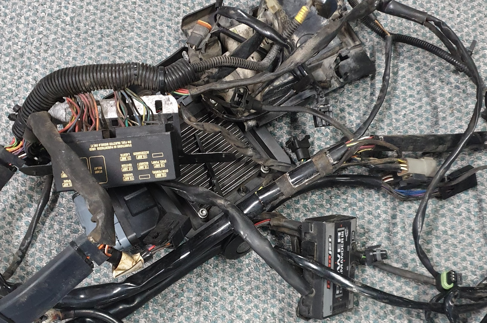 Harley -heritage Softail- Wiring Loom Harness 2003